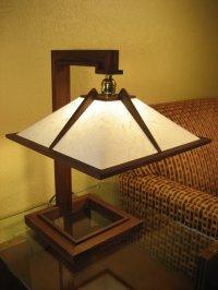 Frank Lloyd Wright Inspired Lamp - by Randy Price ...
