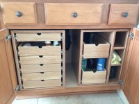 Bathroom Cabinet Storage Drawers - by TD69Mustang ...