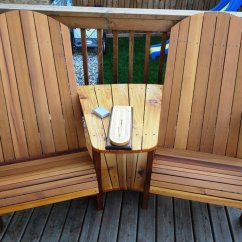 Cedar Adirondack Chairs Plans Chair Covers Hire Gold Coast Double - By Rs Woodworks @ Lumberjocks.com ~ Woodworking Community