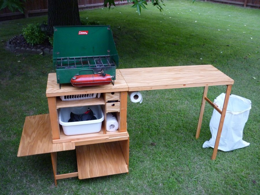 Chuck Box Camp Kitchen By Easiersaidthandone LumberJocks Com