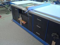 Plans to build Rolling Table Saw Cabinet Plans PDF Plans