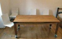 kitchen table on wheels - by hrvoje @ LumberJocks.com ...
