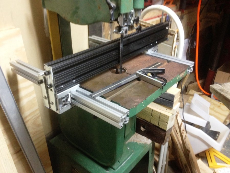 home made Bandsaw Fence