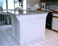 Kitchen Island On Casters - by Tom Landon @ LumberJocks ...