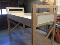 Raised Kids Bed - by Craig @ LumberJocks.com ~ woodworking ...