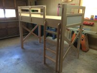 raised kids bed raised kids bed by craig lumberjocks com ...