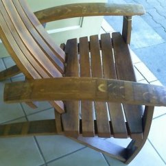 Barrel Stave Adirondack Chair Plans Leg Caps Wine By Winecountrywhimsy