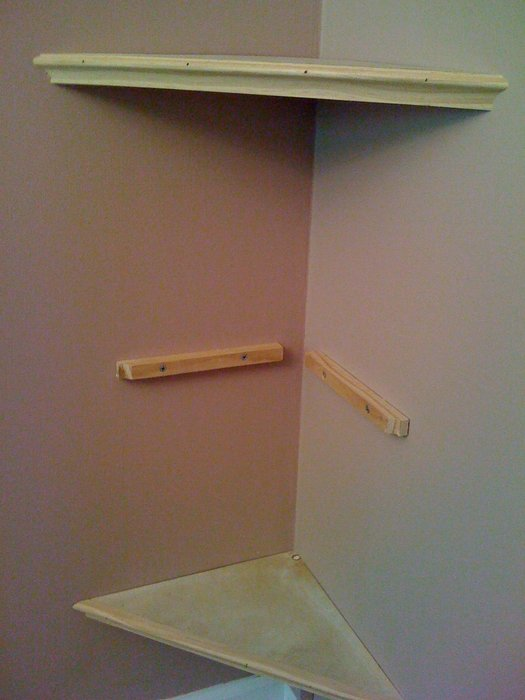 woodworking plans corner shelves