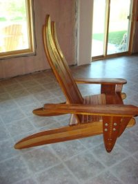 Water Ski Adirondack Chair - by JoeC61 @ LumberJocks.com ...