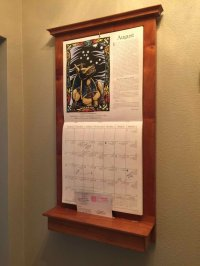 Calendar Holder, WhiteBoard/CorkBoard, Keyholder Set - by ...