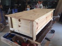 Gun Safe In A Coffee Table - by hoss12992 @ LumberJocks ...
