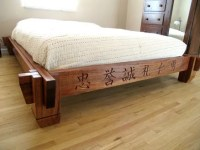 Asian Inspired Platform Bed