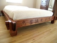 Asian Inspired Platform Bed - by silverhalo @ LumberJocks ...