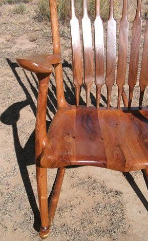 most comfortable rocking chair wedding covers for hire in birmingham mesquite/walnut chair(maloof inspired) - by scott shangraw @ lumberjocks.com ...