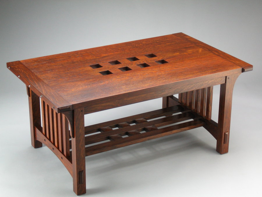 Arts & Crafts Coffee Table  Two Flavours  By Senomozi
