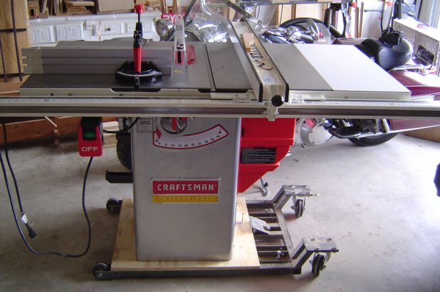 Craftsman Table Saw Adjustment Wheel Brokeasshome Com