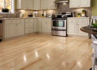 """CLEARANCE! 3/4"""" x 4"""" Natural Maple - BELLAWOOD 