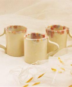 modela y decora 3 tazas