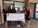 Lumby Scotiabank's Generous donation