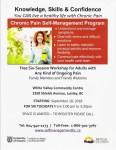 Chronic Pain Management – Starts September 18, 2018