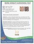 Bone Density Screening