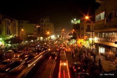 Strada in Cairo