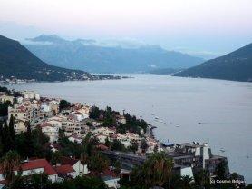 Herceg Novi, panorama de pe munti
