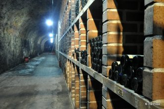 Locul in care se lasa vinul la imbatranit