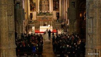Nunta la manastire