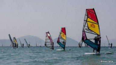 Wind surf la Vassiliki