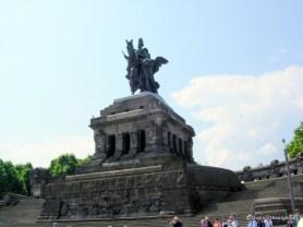 Koblenz Monumentul lui Wilhem I