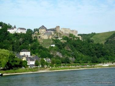 St. Goar Castelul Rheinfels