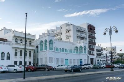 Străzi din Muscat, pe faleză