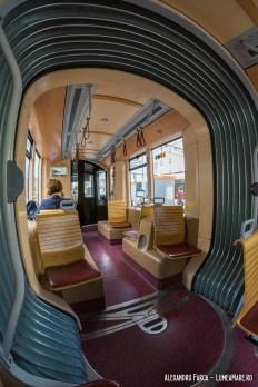 Tramvaiul istoric Pöstlingberg - interior