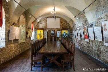 Cetatea Neamț interior