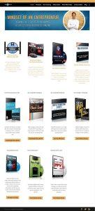 website development and design for adamgundersononline