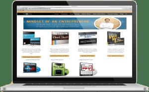 website design for adam gunderson online in owerri