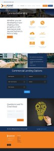 website design project for NuPoint Commercial Funding by Lumena Technologies. Website design agency in Owerri