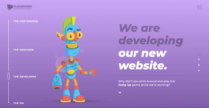 best web design trends 2018