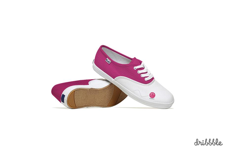 *Lumen Bigott設計的社群網站聯名鞋:Keds & Social Media 8