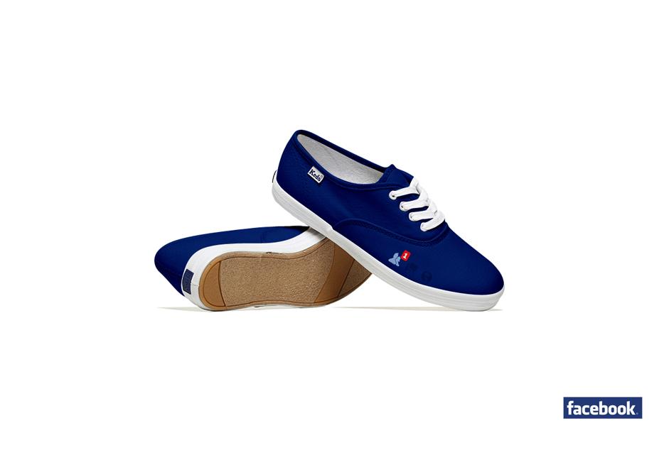 *Lumen Bigott設計的社群網站聯名鞋:Keds & Social Media 2