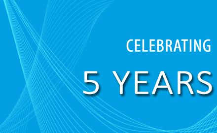 Celebrating 5 Years