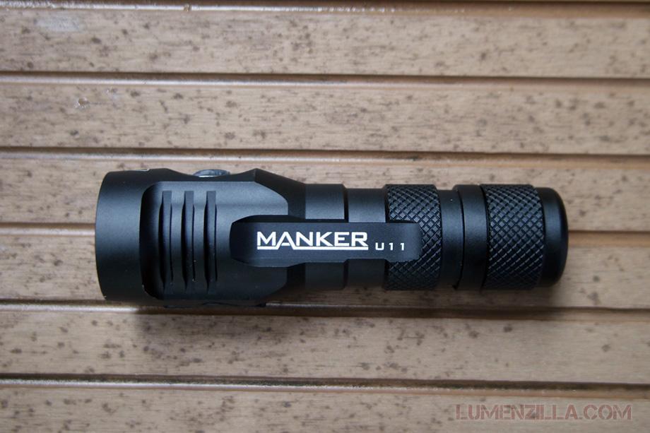 manker quinlan u11 flashlight structure