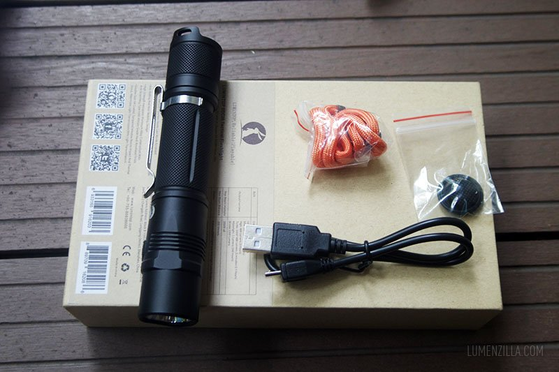 lumintop edc25 package contents
