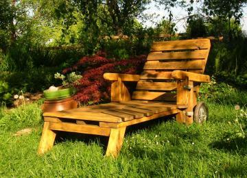 Chaise De Jardin En Palette   Chaise En Bois De Palette Great Vu ...