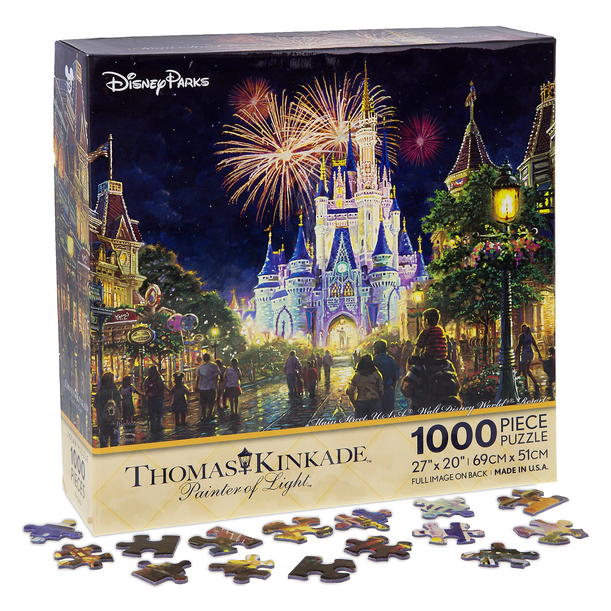 Main Street USA Walt Disney World Resort Puzzle by Thomas Kinkade  shopDisney