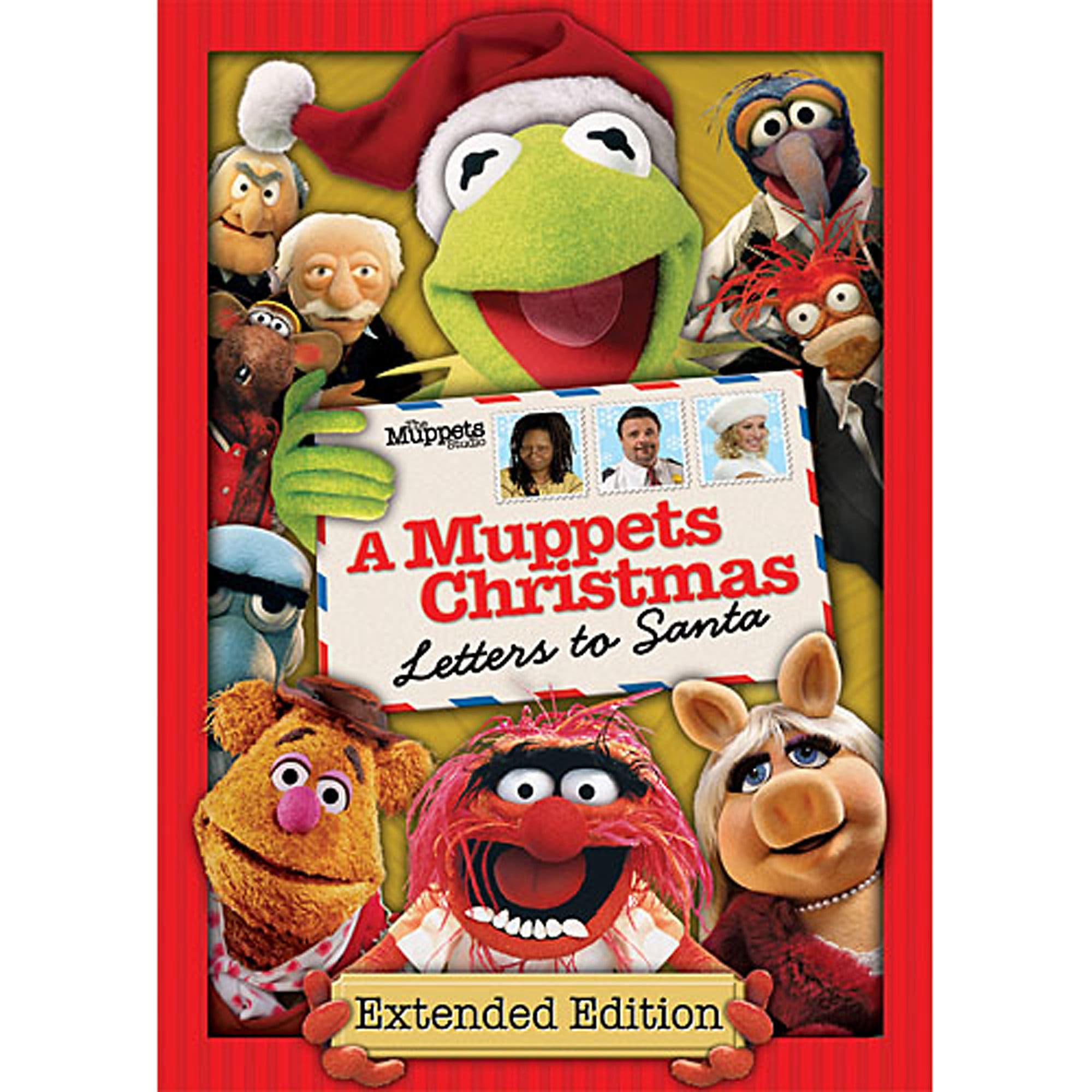 A Muppets Christmas Letters To Santa DVD ShopDisney
