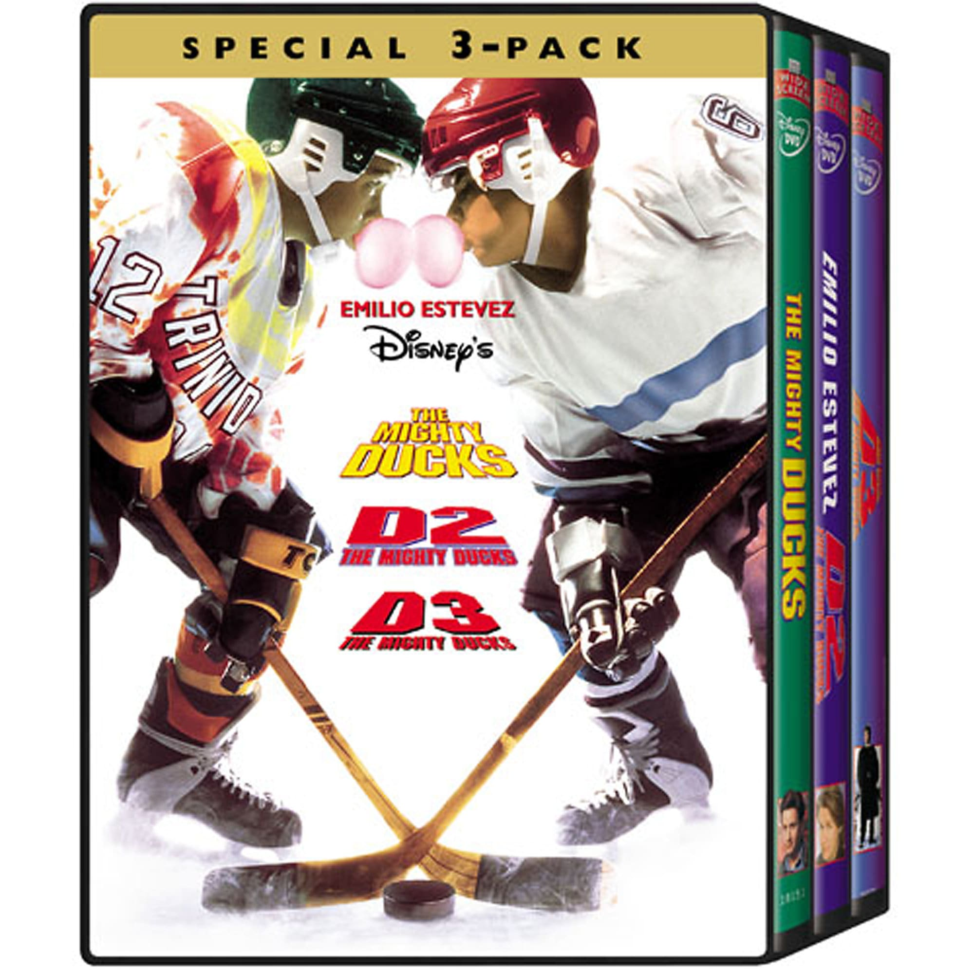 The Mighty Ducks 3Pack DVD  shopDisney