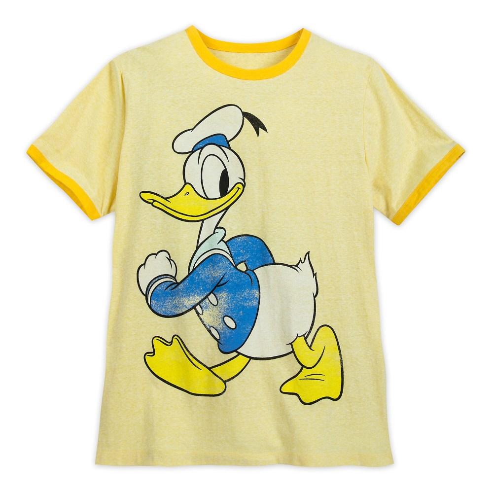 Donald Duck Ringer T-Shirt for Men Official shopDisney