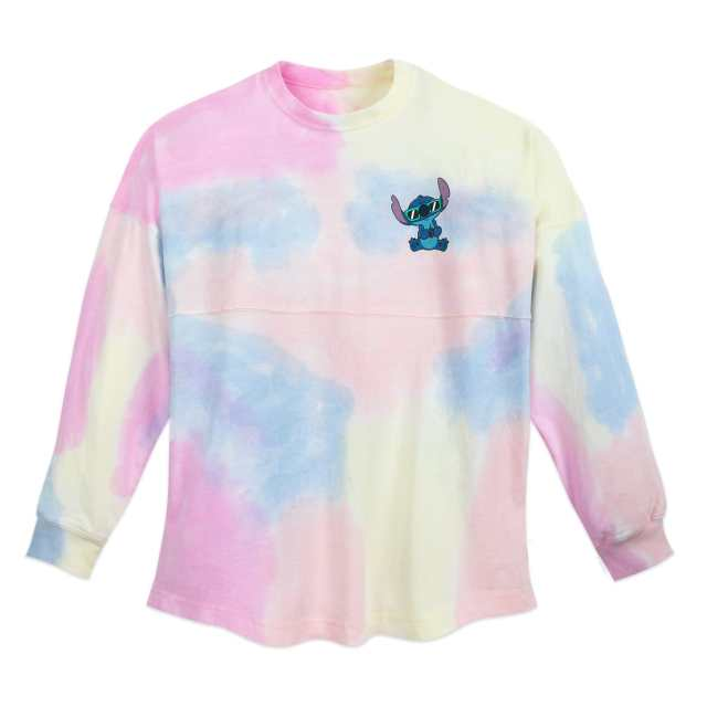 Stitch Tie-Dye Rainbow Spirit Jersey for Adults Official shopDisney